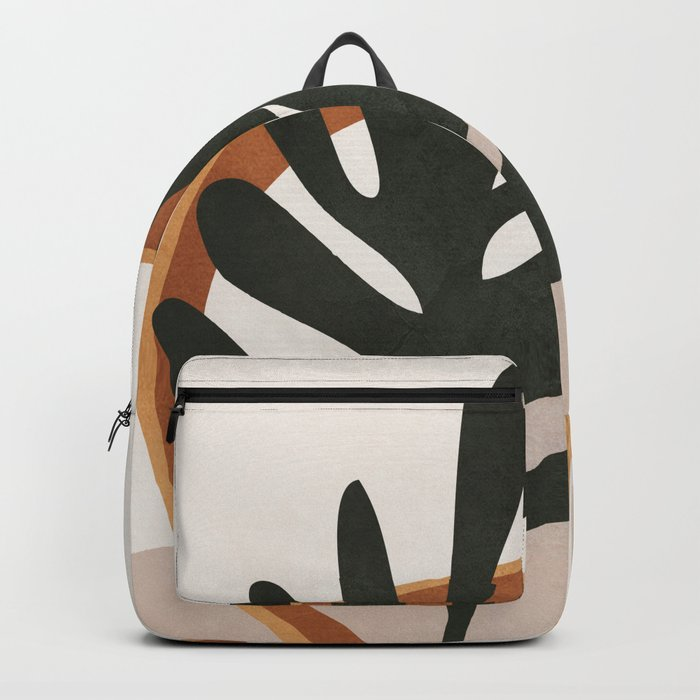 Abstract Plant Life I Backpack