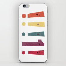 Out Of Place iPhone Skin