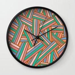 Interlines Spring Wall Clock