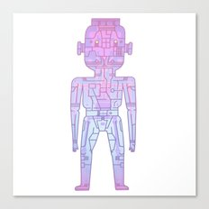 robot - Mr PwarPaps Canvas Print