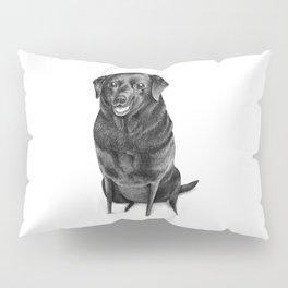 Black Labrador Pillow Sham