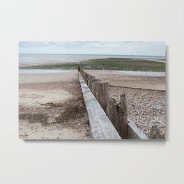 Littlehampton Beach_9 Metal Print