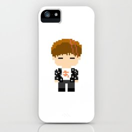 Pixel BTS Jeon Jungkook - Spring Day (Bound) iPhone Case