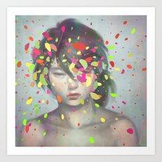 Colours 03 Art Print