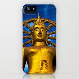 Lord Buddha Thailand iPhone Case