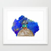 little prince Framed Art Prints featuring Little Prince by gunberk