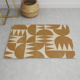 Woodblock Pattern Rug