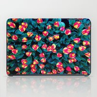 tulips iPad Cases featuring Tulips by Madison Webb