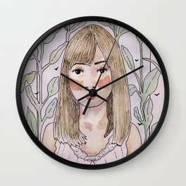 Plants & Mosquitoes Wall Clock