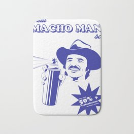 Macho Man Bath Mat