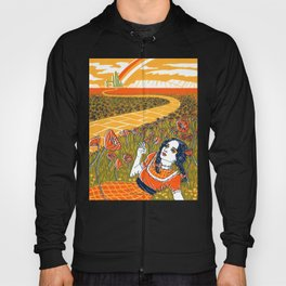 Dorothy in the Poppy Field Hoody