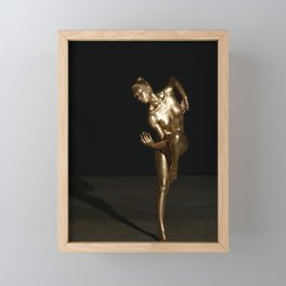 Golden Muse Framed Mini Art Print