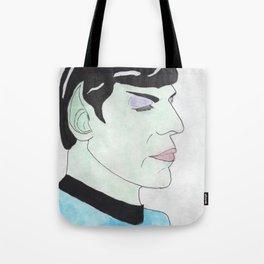 Illogical Emotion and Purple Eyeshadow Tote Bag
