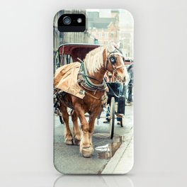 Montreal Taxi iPhone Case