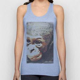 Animal ArtStudio 25416 Baby Chimp Unisex Tank Top