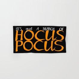 Halloween Hocus Pocus Hand & Bath Towel