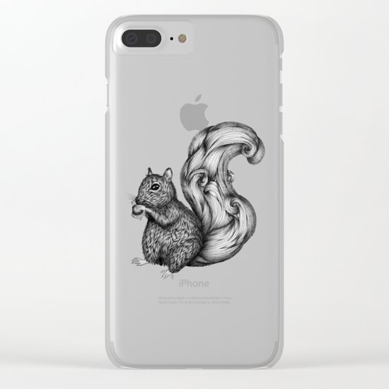 Nuts for a Friend Clear iPhone Case