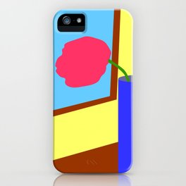 Tulip at the window iPhone Case