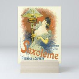 Saxoleine Vintage French Advertising Mini Art Print