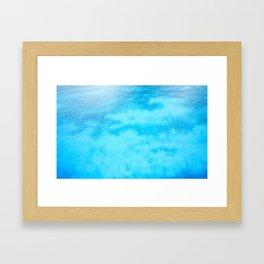Crystal water color Framed Art Print