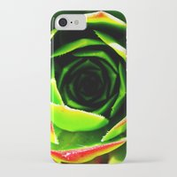 succulent iPhone & iPod Cases featuring Succulent by Derek Fleener