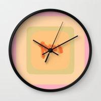 focus Wall Clocks featuring *Focus* by Mr & Mrs Quirynen