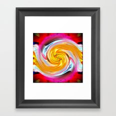 Crazy Carl's Swirl 1 Framed Art Print