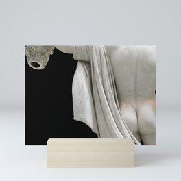 SGULPTURE - the Rear of Perseus w Medusa Mini Art Print