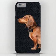 Elegant dachshund. Slim Case iPhone 6 Plus