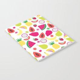 Tutti Frutti Summer Fruit Pattern Notebook