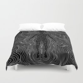 Eternal pulse Duvet Cover