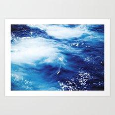 #ocean Art Print