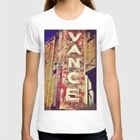 theater T-shirts featuring vintage theater sign by melissamartin