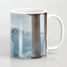 The view - Neuschwanstin casle Coffee Mug