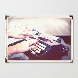 typwriter Canvas Print