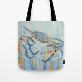 Chesapeake Blue Crab Tote Bag