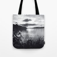 stockholm Tote Bags featuring Stockholm 02 by Viviana Gonzalez
