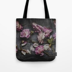 In the silence  Tote Bag