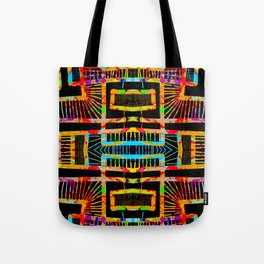 splatter paint design, modern abstract ladders Tote Bag
