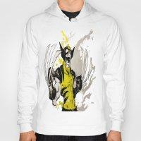 berserk Hoodies featuring Wolverine - Berserker by RISE Arts