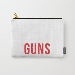 Kids Over Guns Carry-All Pouch
