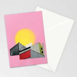 Neon Roof Top Stationery Cards