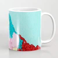 dorothy Mugs featuring Dorothy Gale III by DIVIDUS