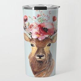 Bohemian Deer 2 Travel Mug