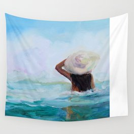 Private Beach Wall Tapestry