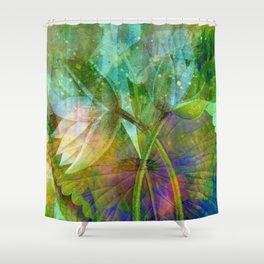 lotus2 Shower Curtain