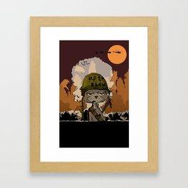 Apocalypse Meow Framed Art Print