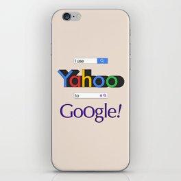 I use Yahoo to Google 2 iPhone Skin