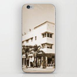 Collins Avenue, Miami Beach iPhone Skin