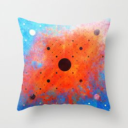 Window to the Other Side Throw Pillow